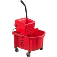 Genuine Joe Steel Handle Mop Bucket/Wringer Combo