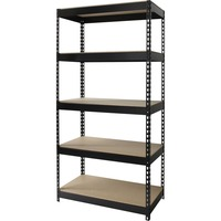 Lorell Riveted Steel Shelving