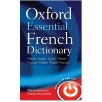 Oxford University Press Essential French Dictionary Printed Book by Oxford Dictionaries