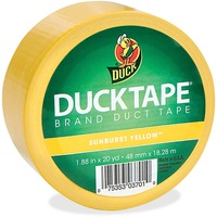 Duck Sunburst Yellow Duct Tape