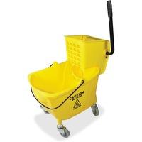 Genuine Joe 35 QT Side Press Mop Bucket Wringer Combo