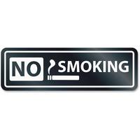 HeadLine No Smoking Window Sign