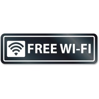 HeadLine Free Wi-Fi Window Sign