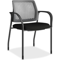 HON Ignition Charcoal ReActiv Back Stacking Chair