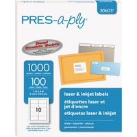 PRES-a-ply White Labels, 2