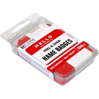 C-Line Hello My Name Is Adhesive Name Badges