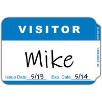 C-Line Adhesive Visitor Name Badges
