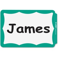 C-Line Self-adhesive Color Border Name Badges