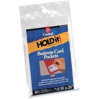 Cardinal HOLDit! Business Card Pocket