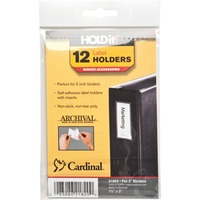 Cardinal HOLDit! Self-Adhesive Label Holders