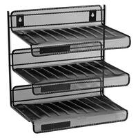 Rolodex Expressions Mesh 3 Tier Desk Shelf