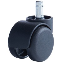 Master Caster Safety Series Carpet Casters, Oversized Neck, 5/Set
