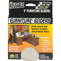 Mighty Mighty Movers Furniture Slider, Reusable, 5