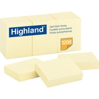 Highland Self-Sticking Note Pads